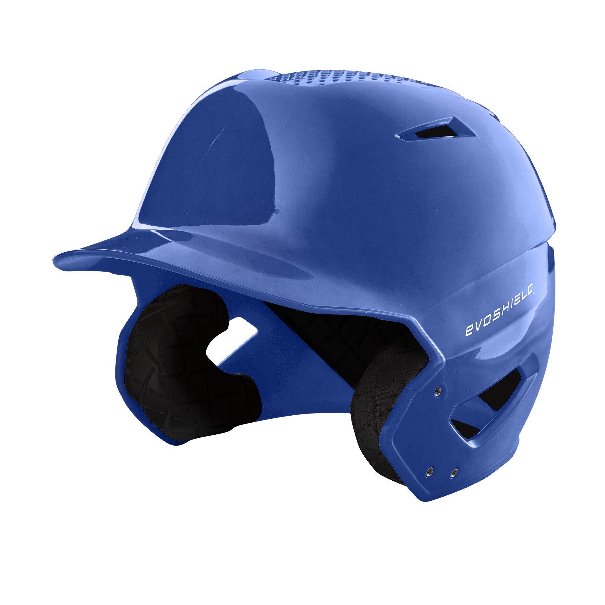 EvoShield XVT Batting Helmet, Royal - Youth by EvoShield