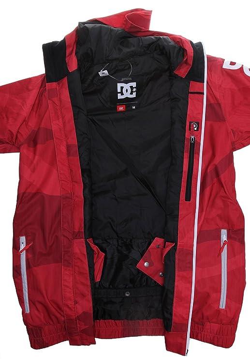 DC Shoes Ripley SE - Chaqueta de esquí para hombre Rouge - Red Camo L: Amazon.es: Ropa y accesorios