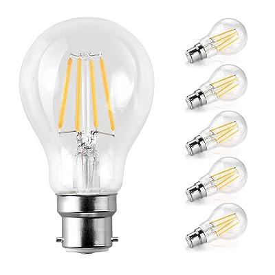 B22 Ampoules6 WÉquivalent Classique Baïonnette W Led À Fin 60 k8wn0PXO