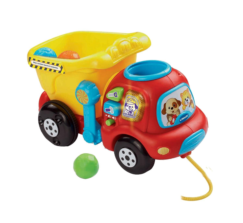 Vtech - A1503871 - Jouet Musical - Mon Camion Benne À Surprises 166505