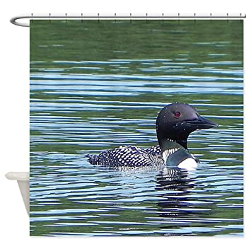 Amazon CafePress Wet Loon Decorative Fabric Shower Curtain 69