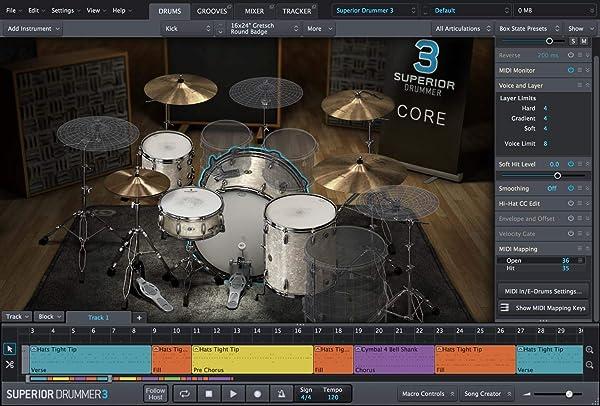 TOONTRACK ( トゥーントラック ) / SUPERIOR DRUMMER 3 ソフトウェア・ドラム音源