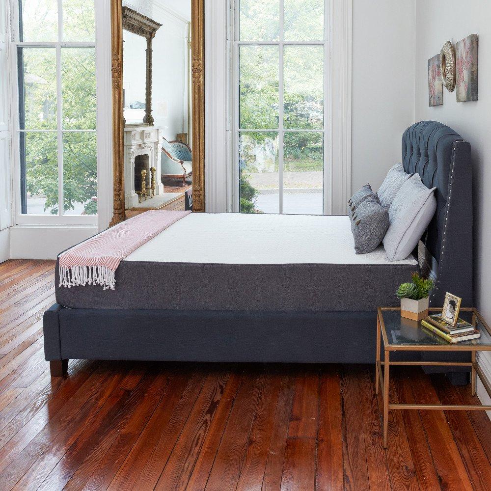 amazoncom classic brands 105 inch cool gel ventilated memory foam mattress queen kitchen u0026 dining
