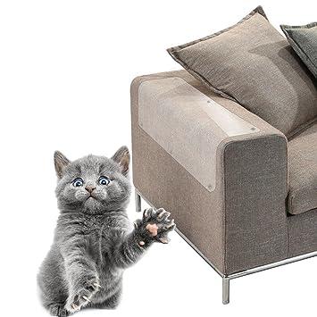 S-tubit - Protector de Gato para Muebles y sofás con 4 Protectores antiarañazos, para Proteger Tus Muebles y tu Gato, Transparente, C:45 * 20cm: Amazon.es: ...