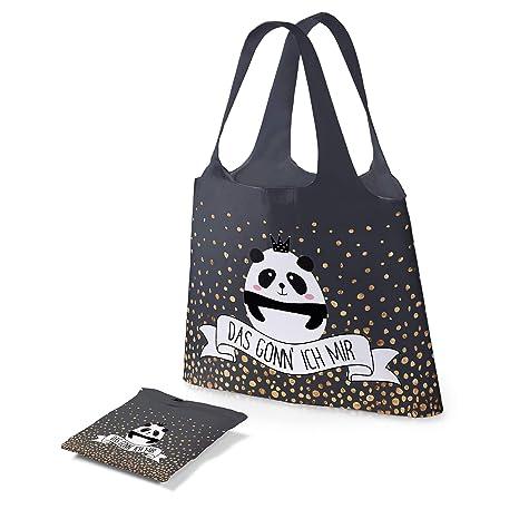 Preis am Stiel Tasche Das gönn ich Mir ''Panda'' | Einkaufstasche | Schultertasche | Shopping Bag