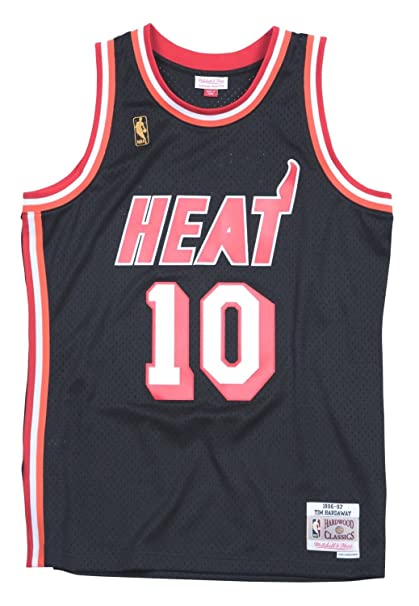 d7cc3904 Amazon.com : Mitchell & Ness Tim Hardaway 1996-97 Miami Heat HWC Black  Swingman Jersey Men's : Clothing
