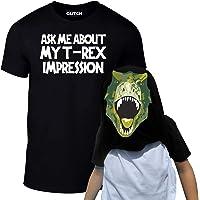 Reality Glitch Kids Ask Me About My T-Rex Flip T-Shirt