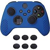 eXtremeRate PlayVital 3D Tachonado Diseño Funda de Silicona Antideslizante para Mando de Xbox Series X, Funda Suave de Protec