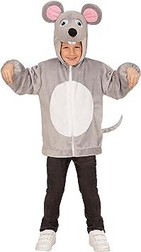 WIDMANN 97467 ? Disfraz para niños Ratón de peluche, chaqueta ...