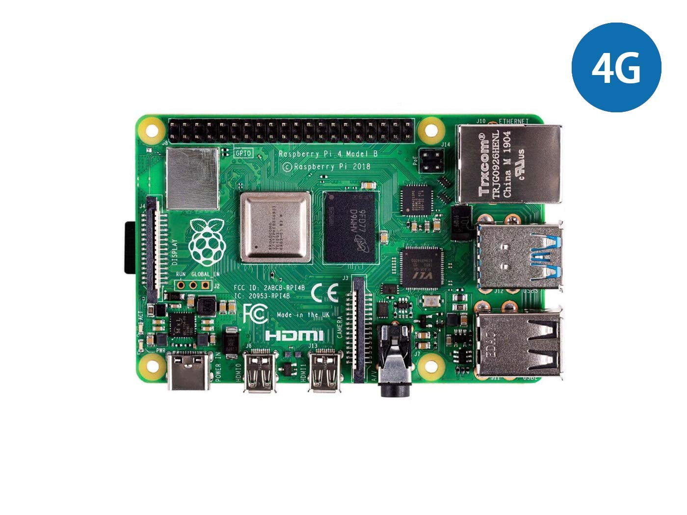 seeed studio Raspberry Pi 4 Computer Model B 4GB