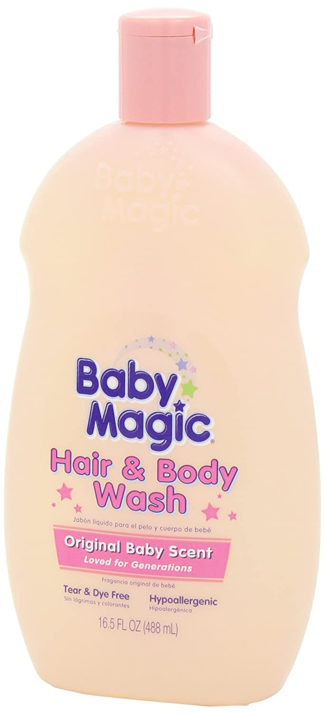 Baby Magic pelo y Body Wash, Original - 16,5 oz: Amazon.es: Salud y cuidado personal