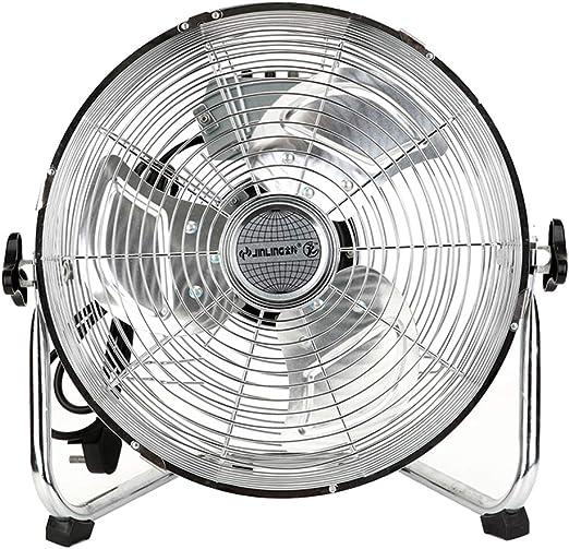 Ventilador De Piso De Metal De Gran Potencia Y Gran Volumen De Aire, De Poco Ruido Y Potente Ventilador De Piso, 3 ...