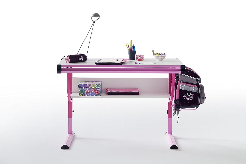 höhenverstellbarer-Schreibtisch-Kinder