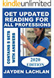 OET Updated Reading For All Professions: 5 Sample Tests with Answers (2019 Edition)