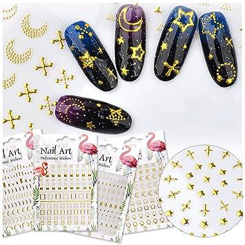 BORN PRETTY 1 sheet Holo Strip Tape Nail Art Stickers Starry