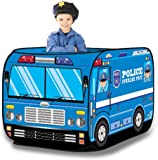 Police Car Pop Up Play Tent - Foldable Indoor/Outdoor Playhouse for Kids  sc 1 st  Amazon.com & Amazon.com: u0027Playsceneu0027 Fire Engine Truck Pop Up Play Tent For ...