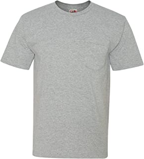 product image for Bayside 5060 Long Sleeve Tee 5.4oz - Dark Ash - Medium
