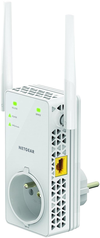 Netgear EX6130-100FRS - Repetidor WiFi AC1200 de Doble Banda (Modelo Francés): Amazon.es: Informática