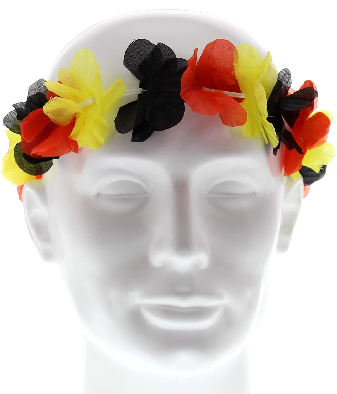 Hawaii-Stirnband FAN Deutschland Germany Fanartikel WM EM Kopfschmuck