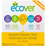 Ecover Automatic Dishwasher Soap Tablets, Citrus, 25 Count