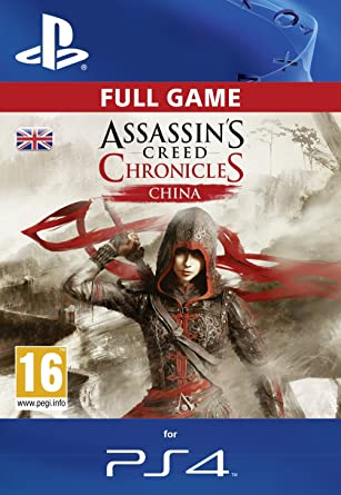 Assassin S Creed Chronicles China Dlc Ps4 Psn Code Uk Account