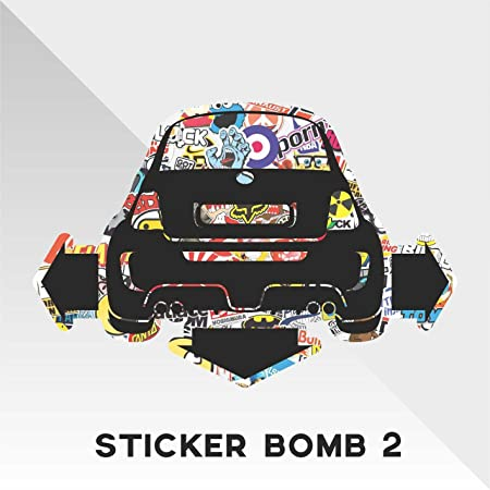 Sticker Fiat 500 Sticker Bomb Down And Out Dub Decal Cars