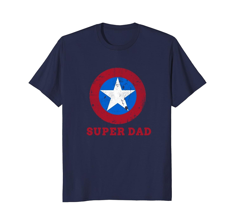 c3b7a10c Super Dad T-Shirt Funny Superhero Father's Day Tshirt-anz ⋆ Anztshirt