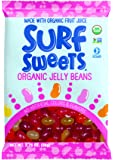 Surf Sweets Organic Jelly Beans, 2.75-Ounce Bags (Pack of 12)