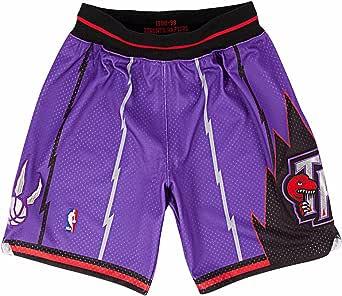 Mitchell y Ness – 98 – 99 Toronto Raptors para hombre pantalones cortos en color morado - 369PA34398TRP, M, Púrpura: Amazon.es: Deportes y aire libre