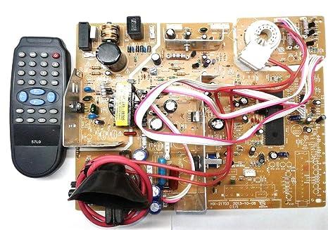 tv circuit board diagram repair amazon in buy smtech color crt tv kit hx 2 8 str 1265 motherboard  buy smtech color crt tv kit hx 2 8 str