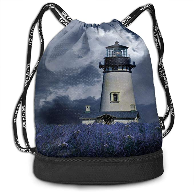 Drawstring Backpack Lighthouse And Hope Rucksack