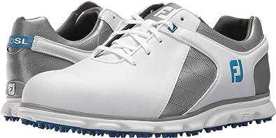 Footjoy Plain Rover Mens Toe Pro Sl Spikeless Yf6gyb7