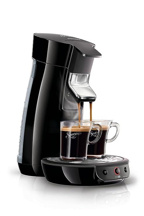 Philips Senseo Viva Café HD7825/60 Kaffeepadmaschine (1450 W, 1-2 Tassen gleichzeitig) schwarz