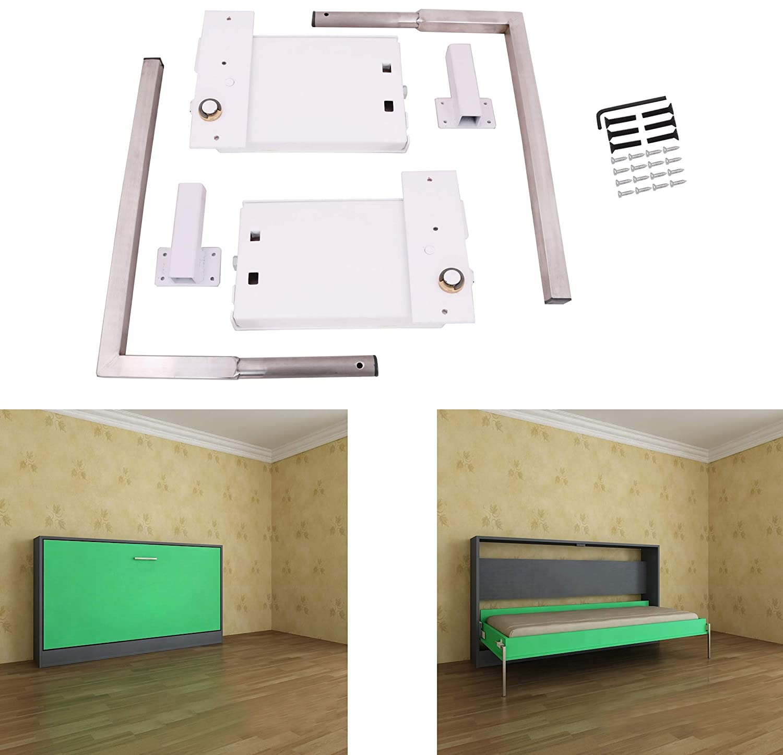Eclv Horizontal Murphy Wall Bed Springs Mechanism Hardware