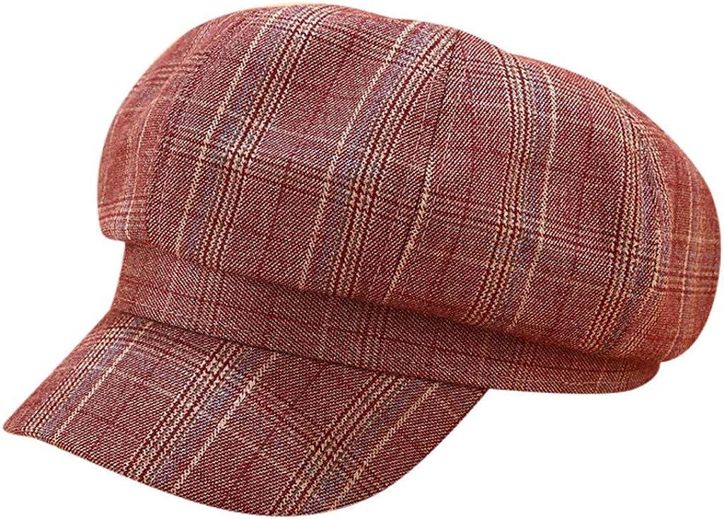 Newsboy Hats Large Plaid...