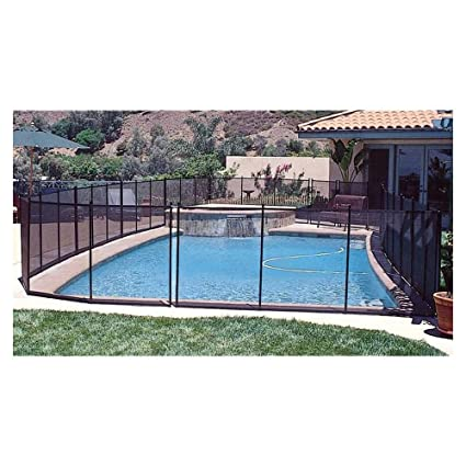 Amazon Com Gli 30 0410 Blk 4 X 10 Ig Safety Removable Fence 30