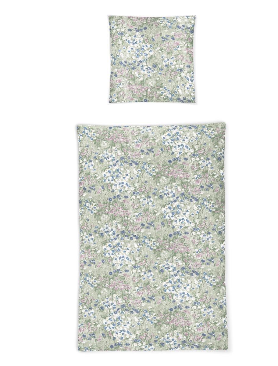 Irisette Soft Jersey Luna Bettwäsche 4 teilig Bettbezug 135 x 200 cm Kopfkissenbezug 80 x 80 cm Luna 381657-90 Pastel