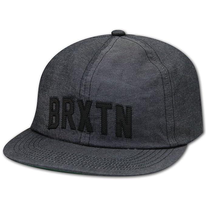 Brixton - Gorra de béisbol - para Hombre Negro Talla única: Amazon ...