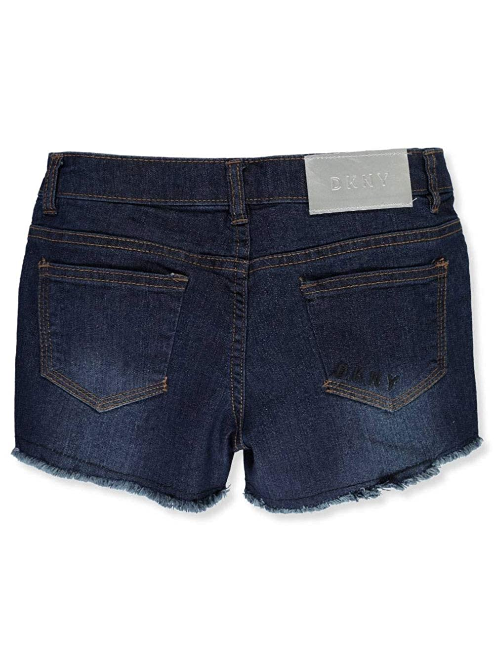 DKNY Girls Rip and Repair Denim Short