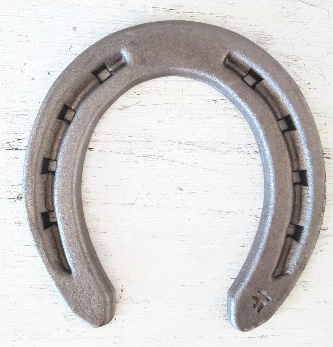 New Steel Horseshoes - Size 000- R1-F -Sand Blasted- Heritage Forge - 20 Shoes