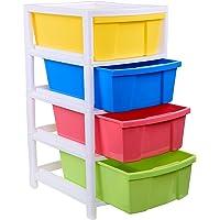 Aristo Multipurpose 4 Drawer Plastic Modular Aristo Chest Storage Organizer