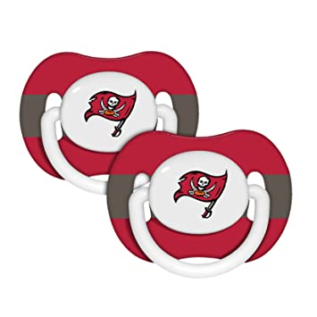d6485420 NFL Tampa Bay Buccaneers 2 Pack Pacifier