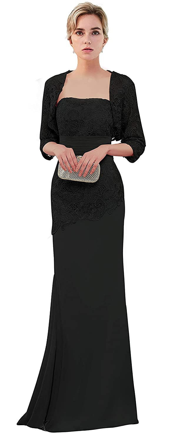 c5bf1b74c7d Amazon.com  VaniaDress Women Long Mother of The Bride Dress with Jacket  Formal Gowns V263LF  Clothing