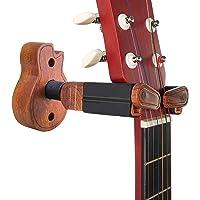 TTCR-II Soporte Guitarra Pared Suelo,Colgador Guitarra pared Accesorios Guitarra Pie Guitarra Soporte Madera Estante de…