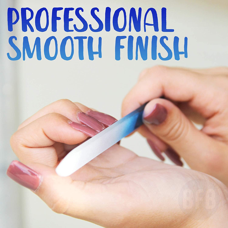 Amazon.com : Glass Nail File Manicure Nail Strengthener ...