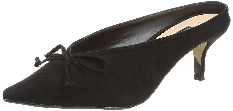 Dorothy Perkins Damen Gilly Pantoletten, Schwarz (Black 130), 39 EU