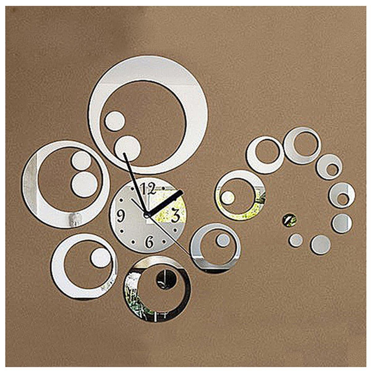 Circle Mirror Removable Decal Vinyl Art Wall Sticker Home Decor Clock Dial      Amazon.com