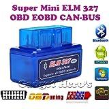 Gadget Hero's Torque SuperMini ELM 327 v2.1 Bluetooth EOBD 2 CAN-BUS OBD2 CAR Reader Scanner