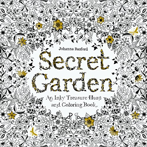 secret garden an inky treasure hunt and coloring book - Best Coloring Book