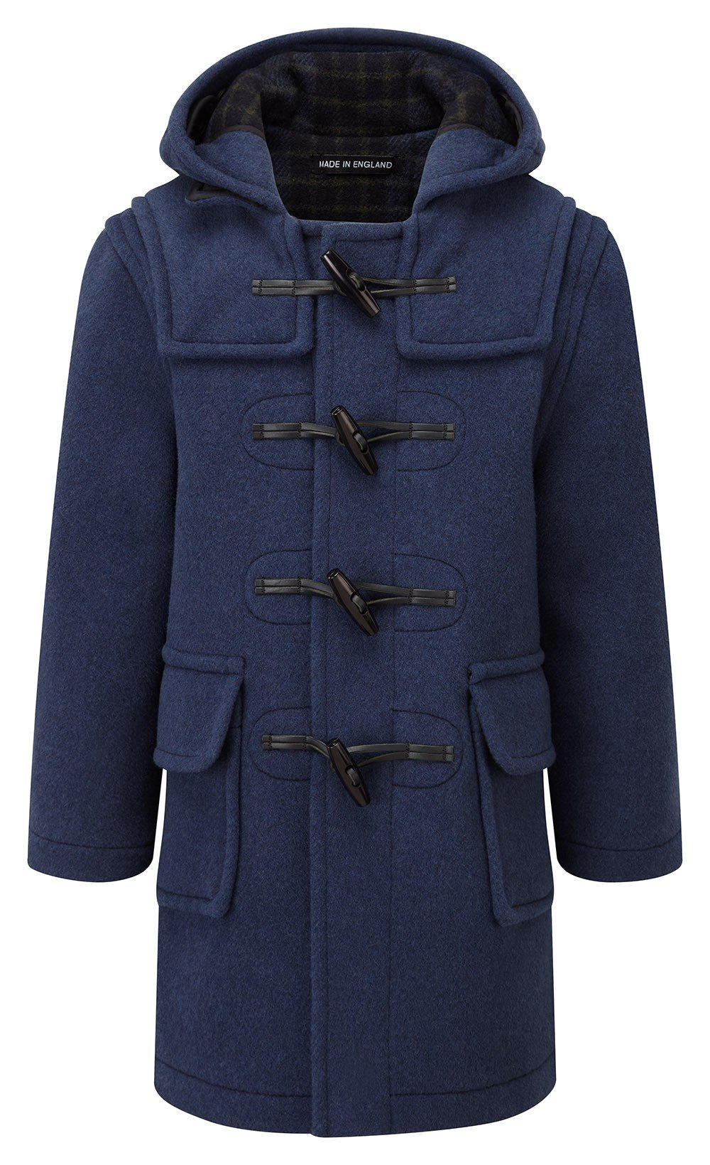 Kids Classic Duffle Coat (Toggle Coat) in Indigo ( 14-16Y )